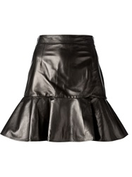 Givenchy Peplum Mini Skirt Black