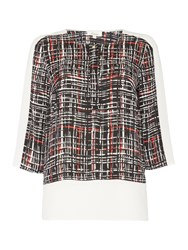 Linea Colour Block Blouse Multi Coloured Multi Coloured