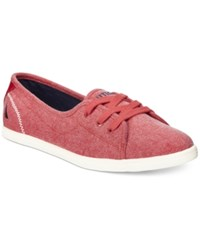 Nautica Cypher Lace Up Sneakers Women's Shoes Tango Red