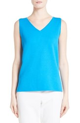 St. John Women's Collection Milano Knit Contour Shell