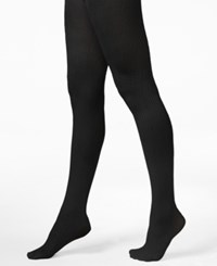 Hue Diamond Texture Tights Black
