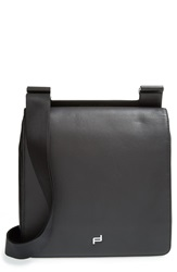 Porsche Design 'Shyrt' Leather City Bag Black