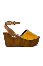Seychelles Forward Wedge Mustard
