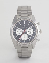 Accurist 7216 Chronograph Bracelet Watch In Silver