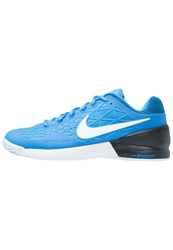 Nike Performance Zoom Cage 2 Outdoor Tennis Shoes Light Photo Blue White Black