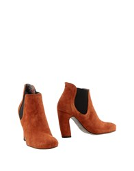 Le Crown Footwear Shoe Boots Women Brown