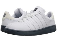 K Swiss Classic Vn Reflective White Dress Blue Leather Men's Shoes