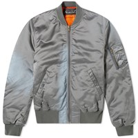 Martine Rose Sunbleached Bomber Jacket Grey