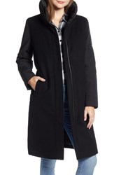 Pendleton Quebec Wool Blend Down Coat Black