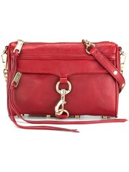 Rebecca Minkoff Large Cross Body Bag Red