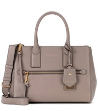 Marc Jacobs Recruit East West Leather Tote Grey
