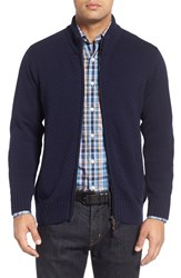 Peter Millar Men's Wool Zip Sweater