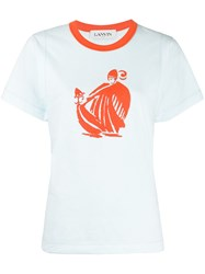 Lanvin Mother And Child Print T Shirt 60