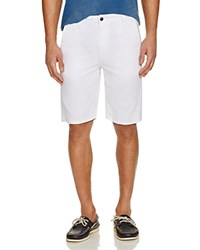 Joe's Jeans Straight Fit Trouser Shorts Optic White