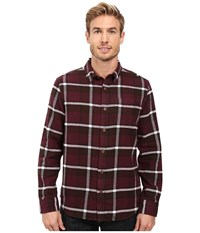Prana Channing Flannel Eggplant Men's Clothing Purple