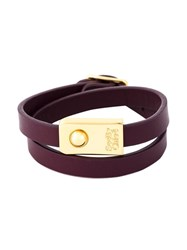 See By Chloe Double Wrap Bracelet Red