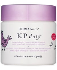 Dermadoctor Kp Duty Dermatologist Formulated Body Scrub With Chemical Physical Exfoliation 16Oz.