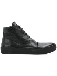 The Last Conspiracy Buffed Sole Ankle Boots Black