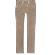 Loro Piana New York Slim Fit Stretch Denim Jeans Neutrals