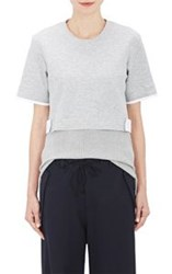 Tim Coppens Layered Back Top Grey