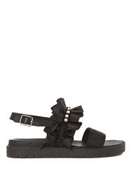 Mother Of Pearl Frieda Sandal Black
