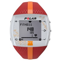 Polar Ft7 Heart Rate Monitor Sports Watch Red Orange