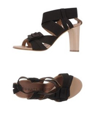 Acrobats Of God High Heeled Sandals Dark Brown