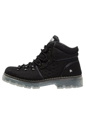 Art Laceup Boots Black