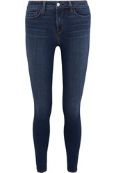 L'agence Marguerite High Rise Skinny Jeans Navy