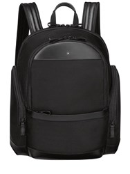 Montblanc Medium Night Flight Nylon Backpack Black