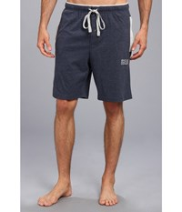 Kenneth Cole Reaction Super Soft Brushed Jersey Sleep Shorts Dark Indigo Navy Men's Pajama