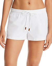 Vilebrequin Fiona Swim Cover Up Shorts White