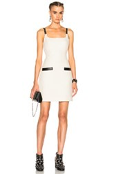 Alexander Wang Fitted Dress In White