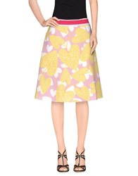 Agatha Ruiz De La Prada Skirts Knee Length Skirts Women Purple