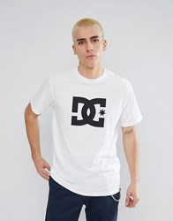 Dc Shoes T Shirt With Star Logo White