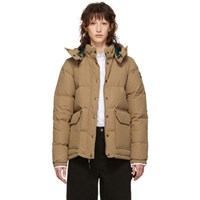 The North Face Tan Down Sierra 2.0 Jacket