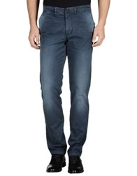 Cellar Door Casual Pants Dark Blue