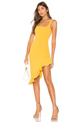 Privacy Please Giselle Midi Dress Mustard