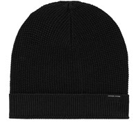 Canada Goose Waffle Slouch Beanie Black