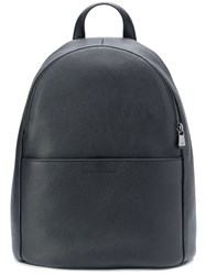 Emporio Armani Panelled Backpack Black