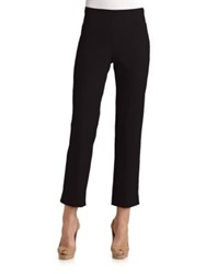 Lafayette 148 New York Cropped Bleecker Jodhpur Pants White Black