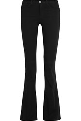 M.I.H Jeans The Bodycon Marrakesh High Rise Flared Jeans Black