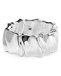 Robert Lee Morris Soho Shiny Stretch Cuff Shiny Silver