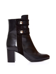 Isabel Marant Alvy Military Leather Ankle Boots