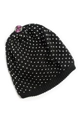 Muk Luks Bird's Eye Beanie Black