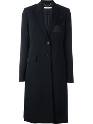 Givenchy Contrast Pocket Coat Black