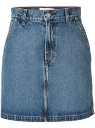 Nobody Denim Studio Skirt Blue