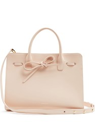Mansur Gavriel Sun Leather Tote Light Pink