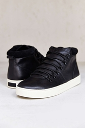 Clae Grant Leather Boot Black