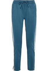 Love Stories Bailey Striped Jersey Track Pants Teal